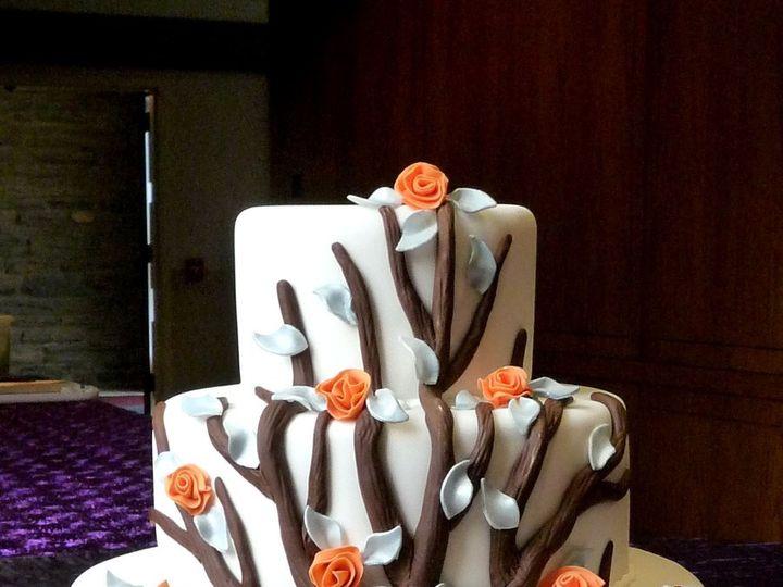 Tmx 1349657443973 Fondant33 Hatboro, Pennsylvania wedding cake
