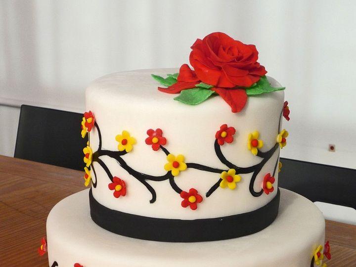 Tmx 1349657537537 Fondant69 Hatboro, Pennsylvania wedding cake