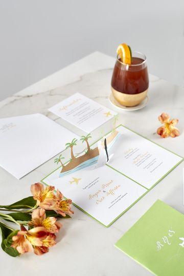 Stunning invitation