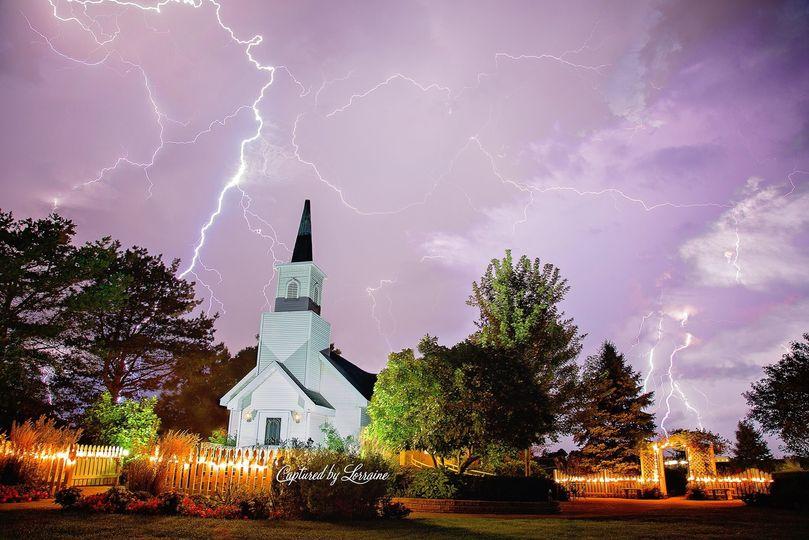 Lightning in the skies
