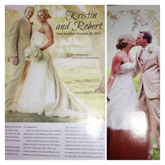 Editorial Work. Hair & Airbrush Make-up I did, my work made it into the Sacramento HERLIFE Magazine