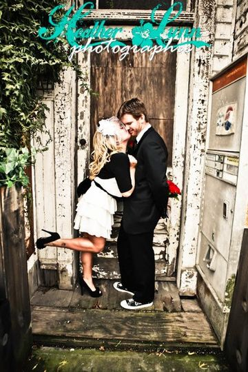 Vintage Pin-Up Inspired Wedding Day