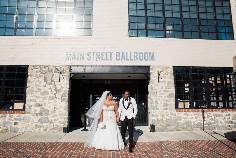 Main Street Ballroom Entrence