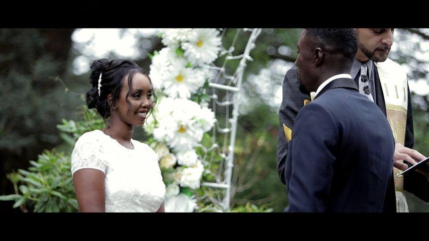 An outdoor affair (Faduma and Jeffrey's wedding)