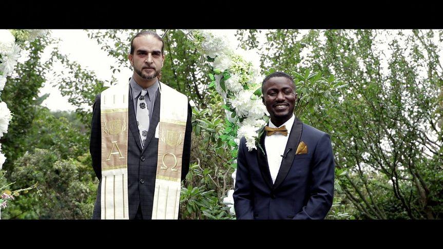 Waiting patiently (Faduma and Jeffrey's wedding)