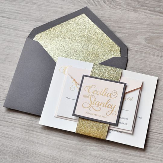 Gold Sparkle Lining