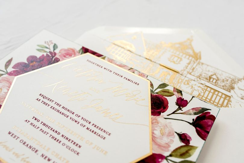 Floral & venue illustrations