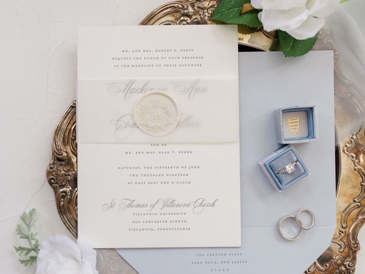 Tmx Ww22 51 110387 1571076192 Morristown, NJ wedding invitation