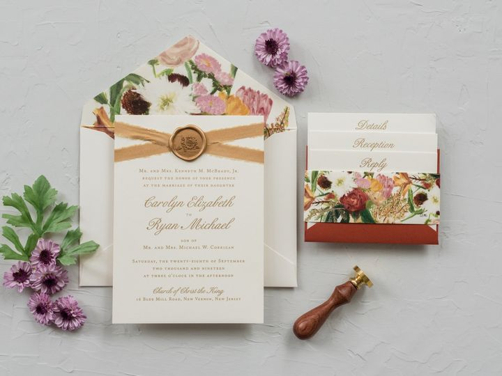 Tmx Ww6 51 110387 1571075400 Morristown, NJ wedding invitation