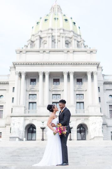 Capitol Building Wedding