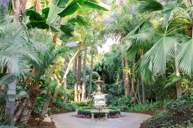 Arbor Terrace fountain