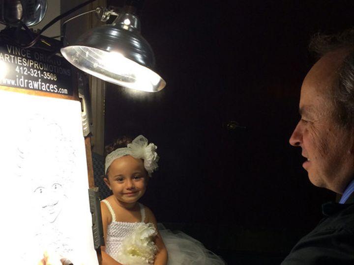 Tmx 1448346611013 Promo Pic Caricature Wedding Flower Girl Copy Pittsburgh wedding rental