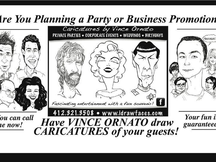 Tmx 1448383309868 Ornato Flier Pittsburgh wedding rental