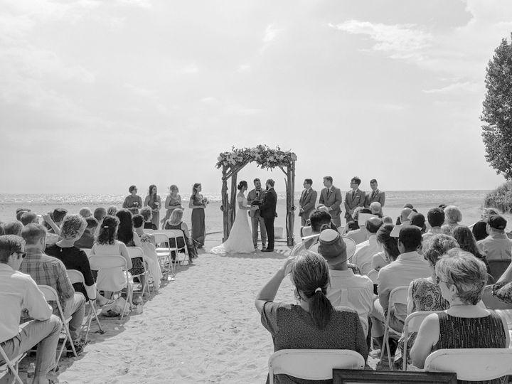 Wedding at Woodlawn Beach
