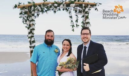 Beach Wedding Minister