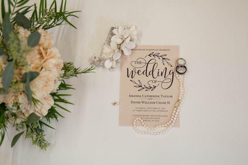 A wedding invite
