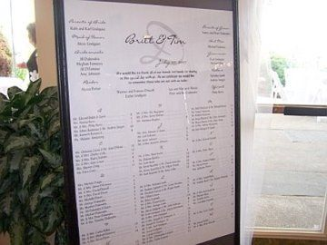 Unframed Seating Scrolls start at only $80.00!!