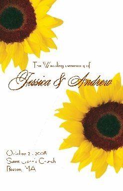 Tmx 1203794570988 SunflowerProgram Franklin wedding invitation