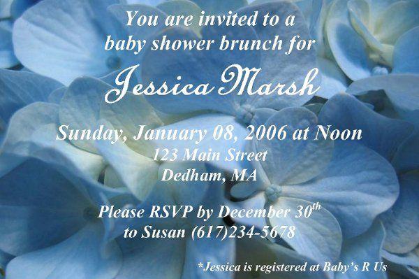 Tmx 1203796115753 Hydrangea Franklin wedding invitation