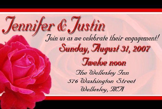 Tmx 1203796161066 RedRose12 Franklin wedding invitation