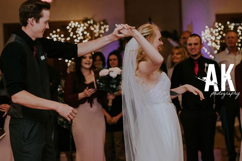 Newlyweds celebrate