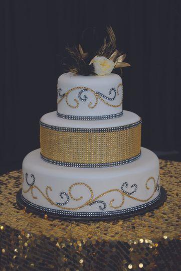 8efc53d6520 Craig s Cake Shop - Wedding Cake - Verona