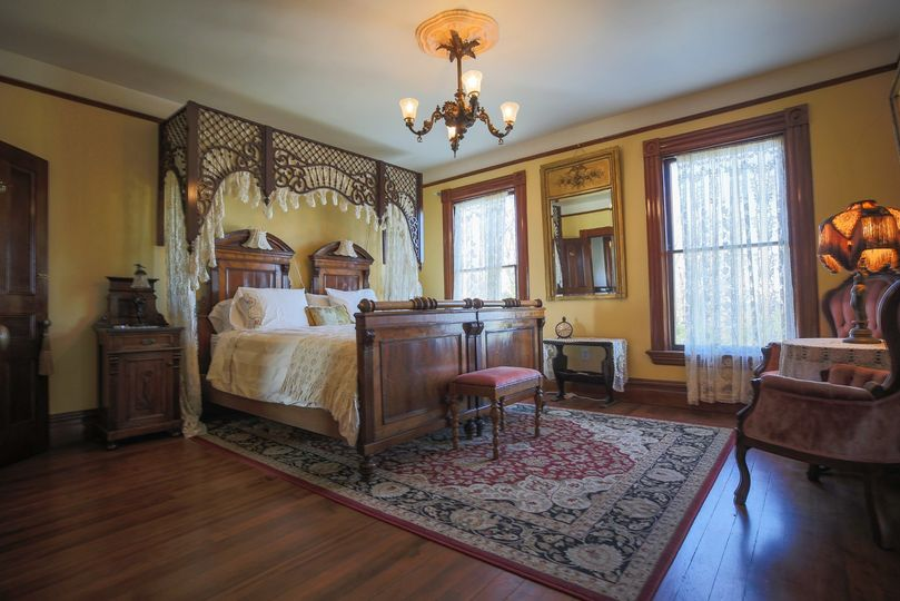 One of many bedrooms