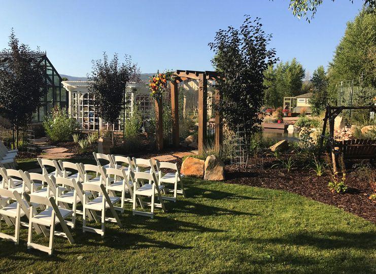 Badlands Ranch Wedding Ceremony in Oakley, Utah