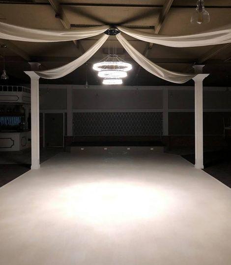 Garden Room dance floor