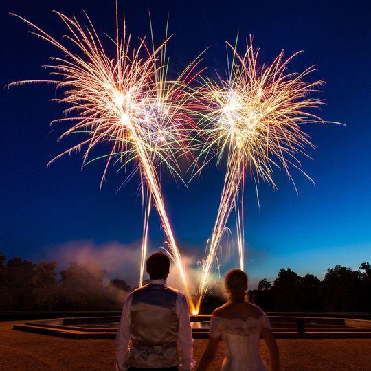 More wedding Fireworks