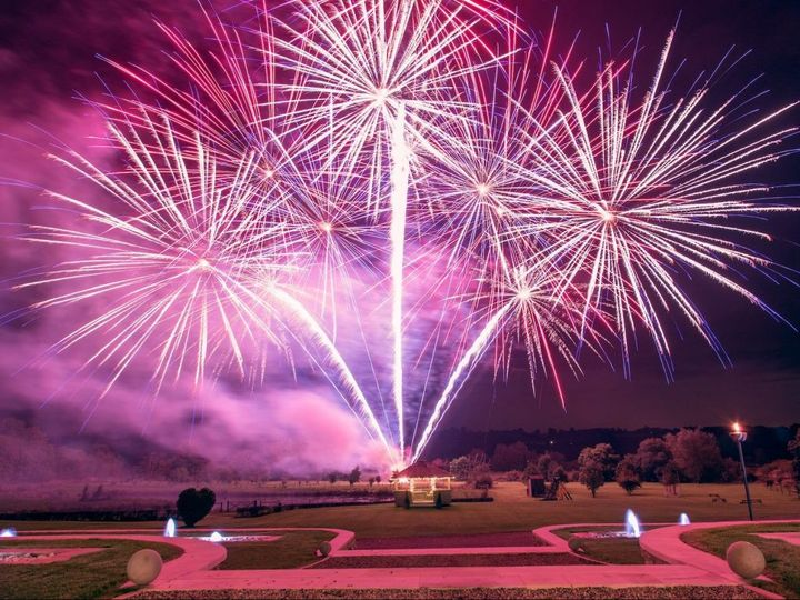 professional fireworks at the yorkshire wedding barn 2014 1024x768 51 1954387 158424259045480