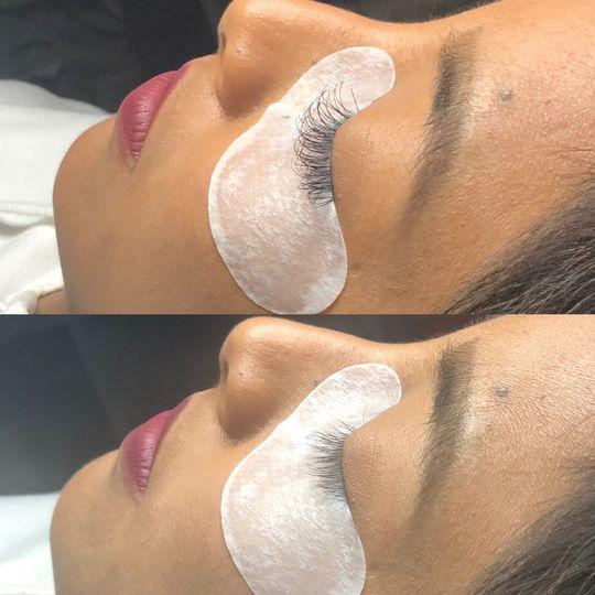False Eyelashes and Extensions