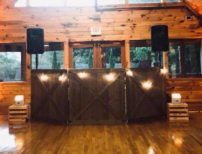 Rustic set up