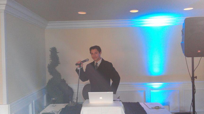 DJ Val on the Mic.