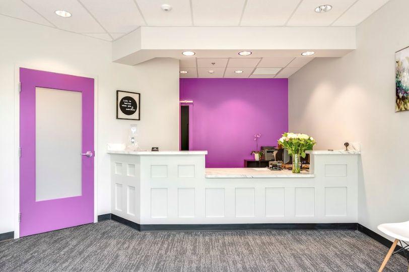 An elegant dentist office