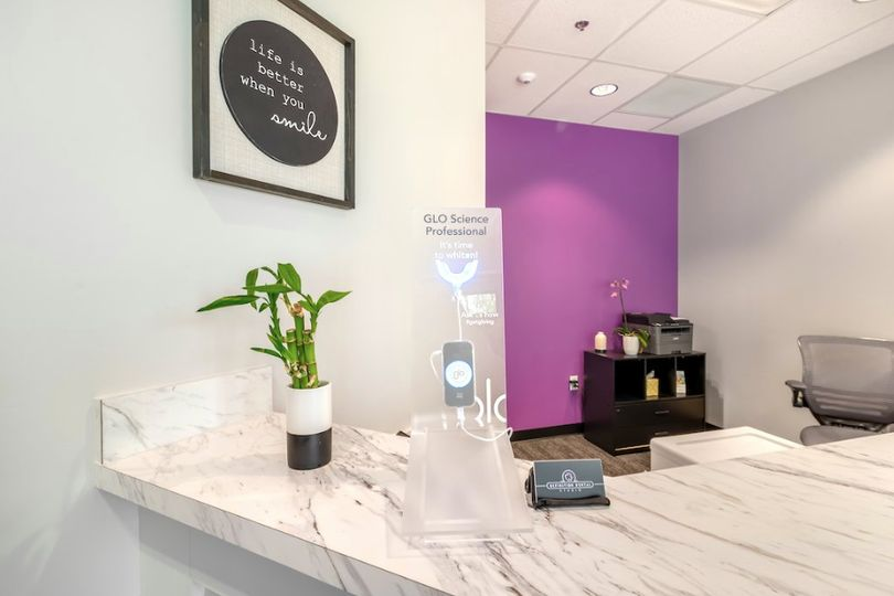 A welcoming dental office