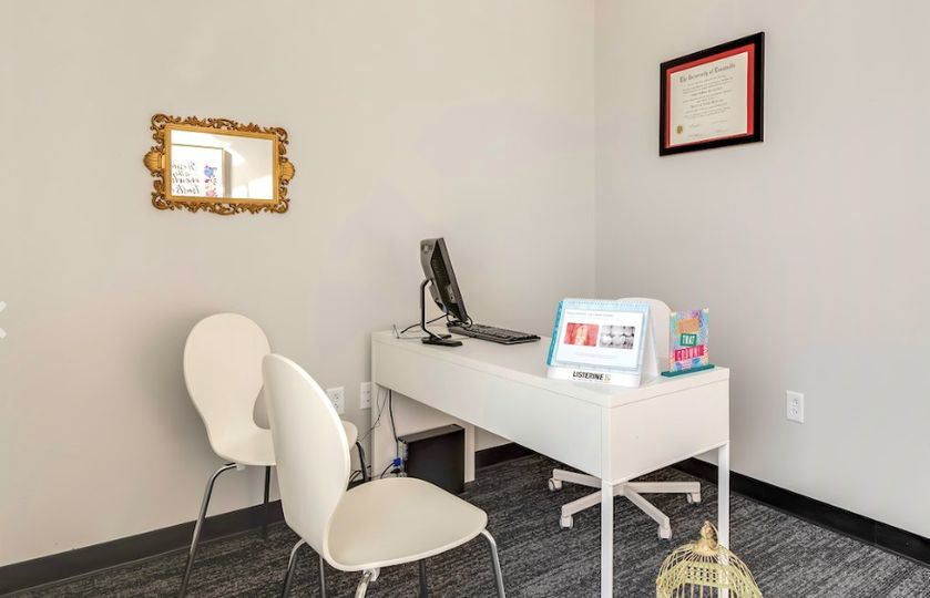 Upscale dental studio