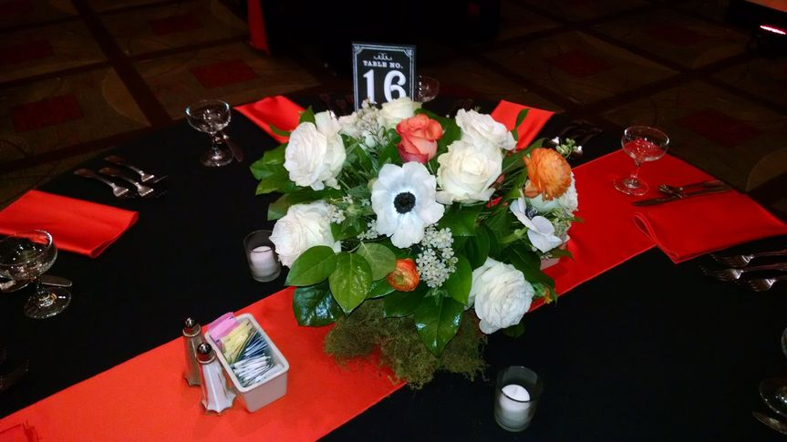Bouquet centerpiece