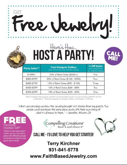Host a Party and Get Free Jewelry!!