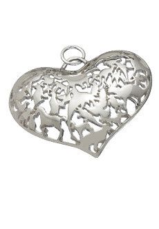 Can You Guess How Many Animals Are In This Pendant?  Visit my website www.FaithBasedJewelry.com  To...
