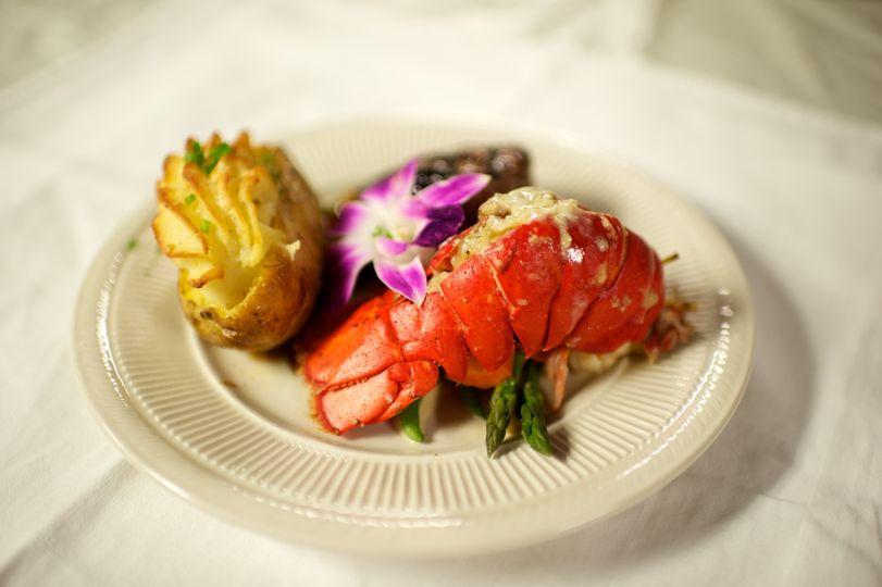 Buttered lobster