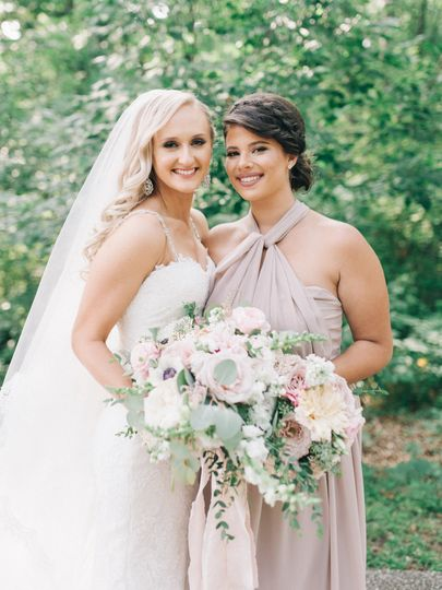 Made of honor Makeup