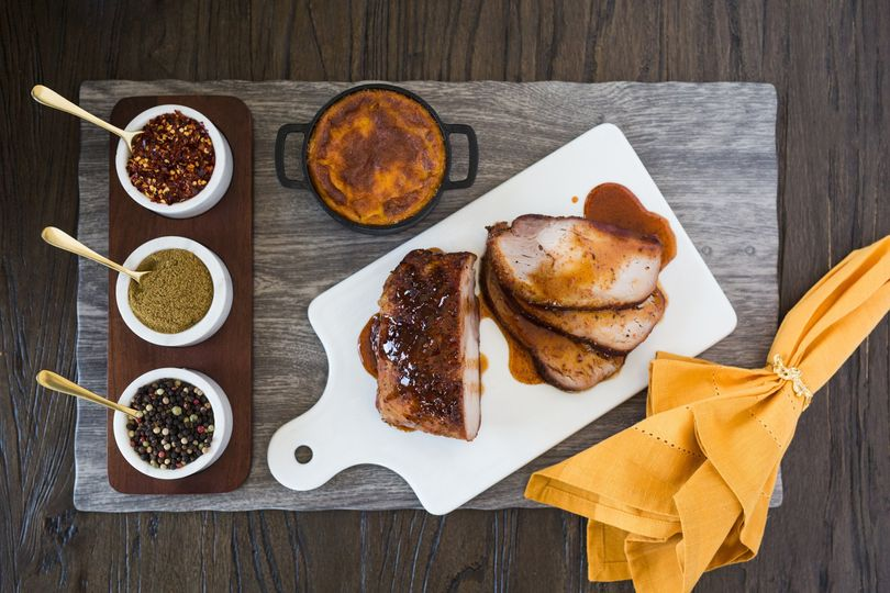 Brwon Sugar Roasted Pork Loin