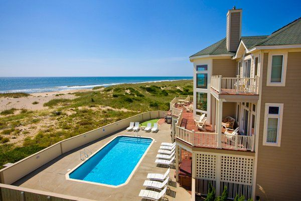 Oceanfront home with beautiful views.