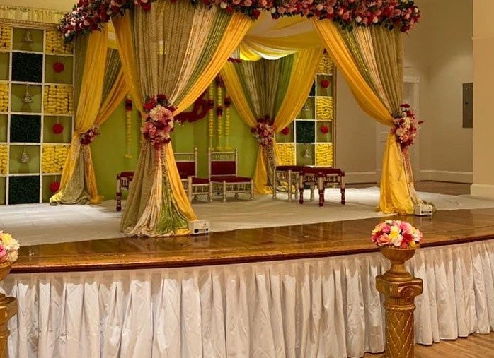 Mandap on the Stage