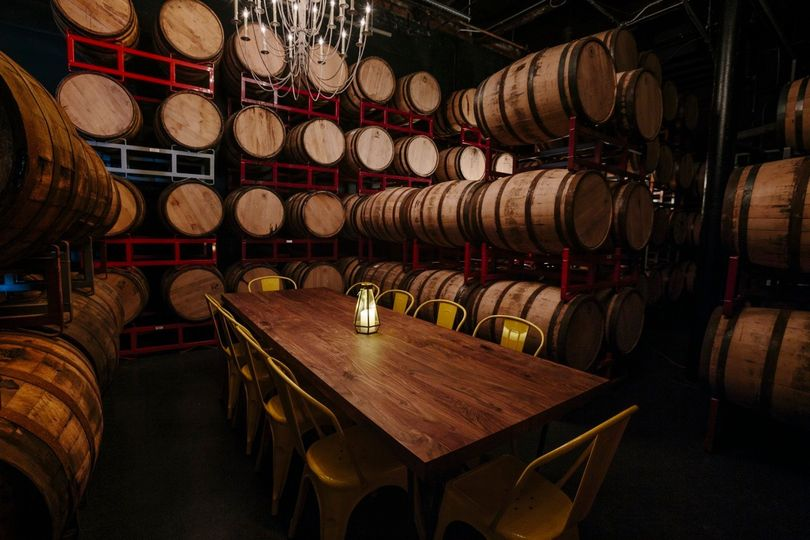 Barrel room private dining