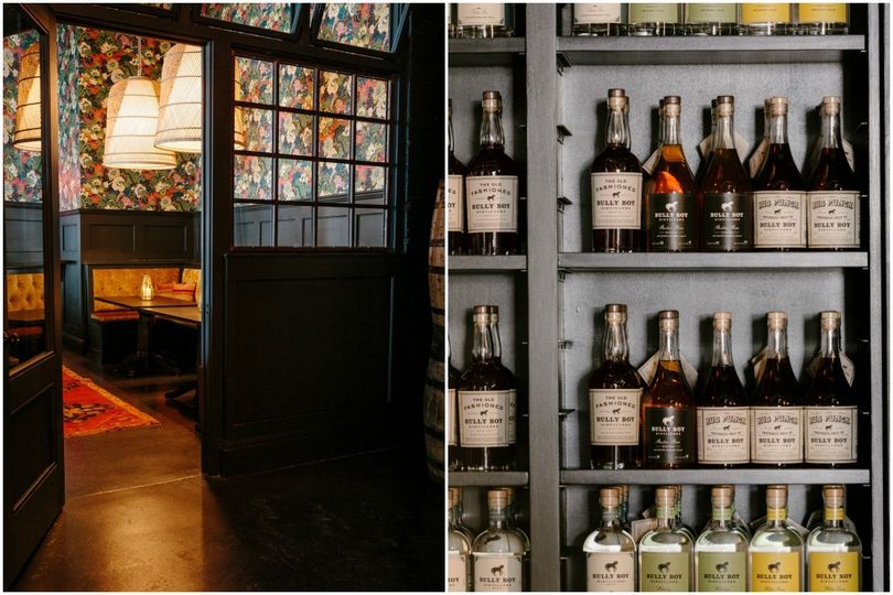 Wide selection of beverages - Bully Boy Distillers