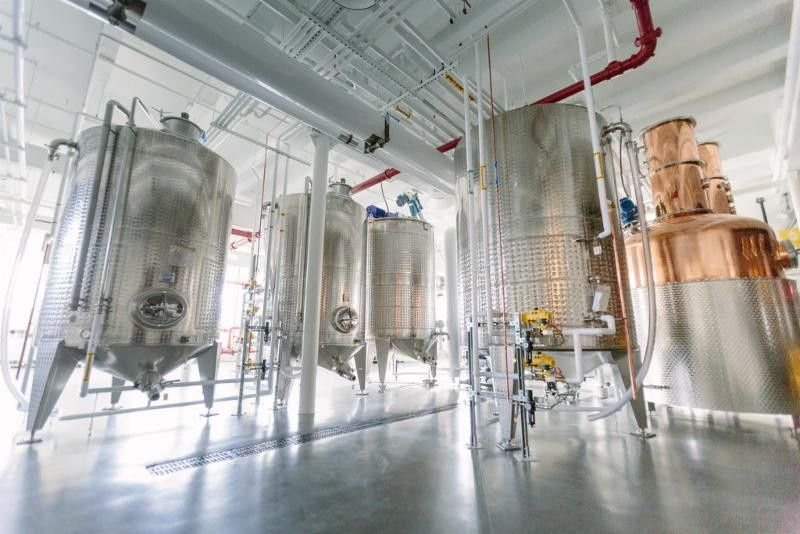 Expansive event space - Bully Boy Distillers