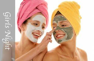 Girls night spa parties available in Savannah.