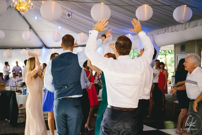 The dance party